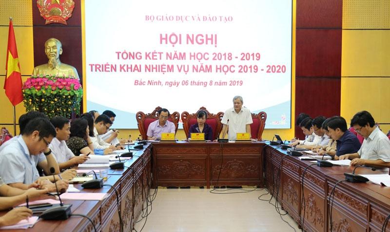 """""""Tăng cường kỷ cương, nền nếp, nâng cao chất lượng và hiệu quả giáo dục"""" - Mục tiêu trọng tâm, đột phá của ngành GD&ĐT tỉnh Bắc Ninh năm học 2019-2020"""