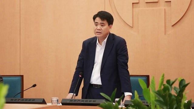 Tạm đình chỉ công tác đối với Chủ tịch TP Hà Nội Nguyễn Đức Chung