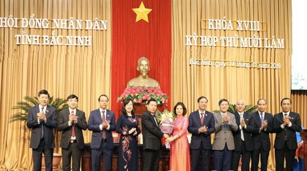 Đồng chí Nguyễn Hương Giang đắc cử, trở thành nữ Chủ tịch UBND tỉnh Bắc Ninh đầu tiên