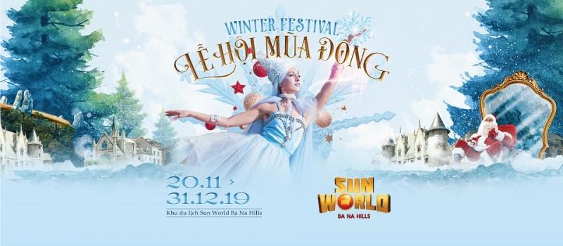 Nào, chúng ta cùng khám phá lễ hội mùa đông phong cách Châu Âu trên đỉnh núi Chúa!