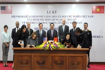 Lễ ký Hiệp định giữa Chính phủ Việt Nam và Chính phủ Hoa Kỳ về Hỗ trợ lẫn nhau trong lĩnh vực hải quan