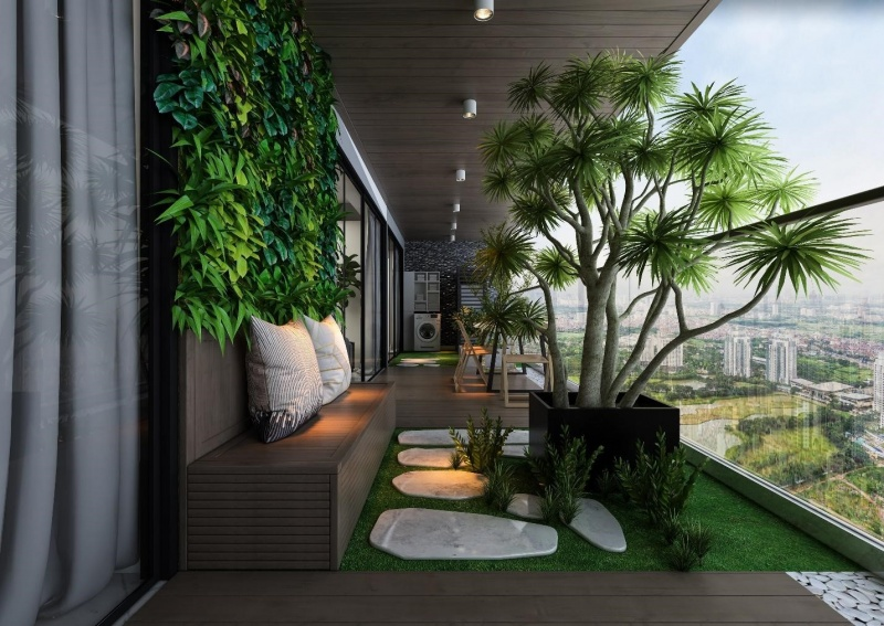 Thời đại của căn hộ trên cao: Nhà to, vườn xanh rộng giữa lưng chừng trời, khó tin nhưng có thật