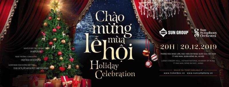 Giáng sinh đặc biệt nhất tại Hà Nội với những bản giao hưởng tuyệt đẹp từ những bộ phim kinh điển