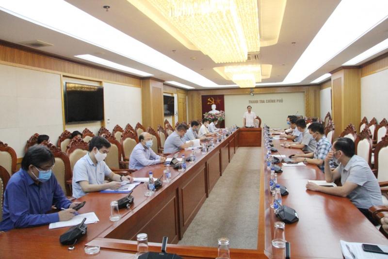 Dự thảo thẩm quyền thanh tra trách nhiệm của Thanh tra Chính phủ