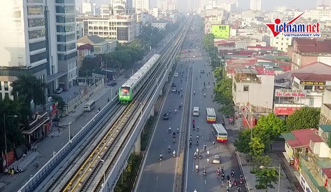 Tăng 7,8 triệu USD chi phí tư vấn giám sát đối với dự án Đường sắt Cát Linh