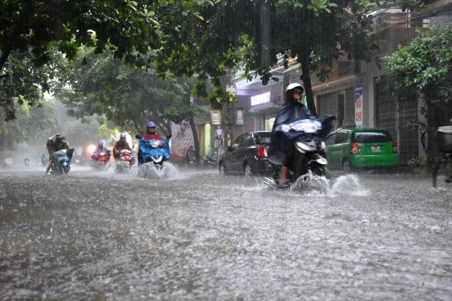 Thời tiết ngày 16/9: Bắc Bộ và Bắc Trung Bộ có mưa dông