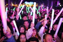 flc countdown party 2019 khuay dao thanh pho bien sam son