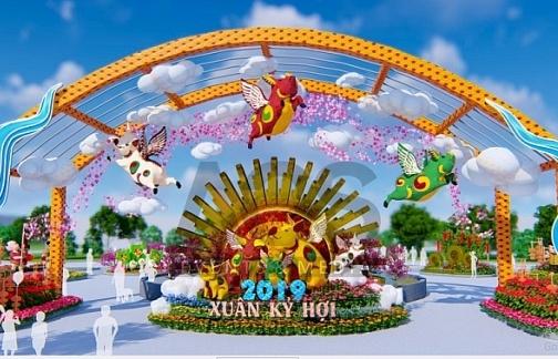 """""""Đẹp rụng rời"""" Lễ hội hoa xuân lớn nhất Miền Bắc tại Sun World Halong Complex"""