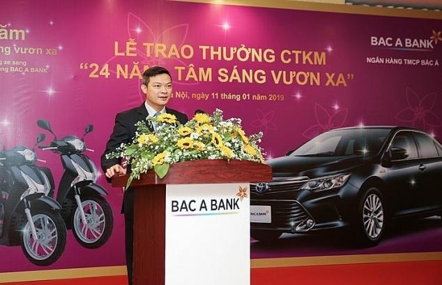 BAC A BANK tổ chức trao thưởng chương trình khuyến mại kỷ niệm 24 năm thành lập