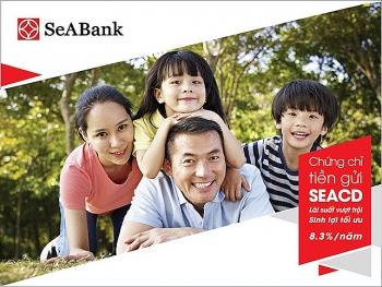 seabank phat hanh chung chi tien gui lai suat len toi 86nam