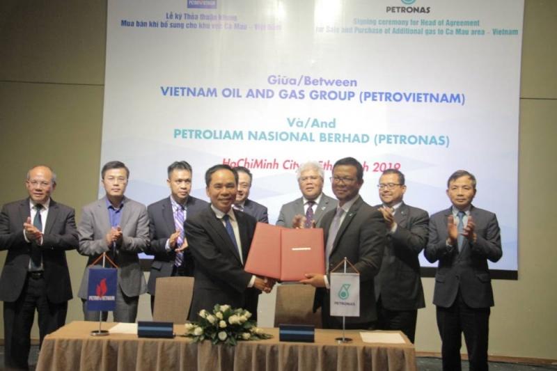 Petrovietnam và Petronas ký Thỏa thuận khung mua bán khí