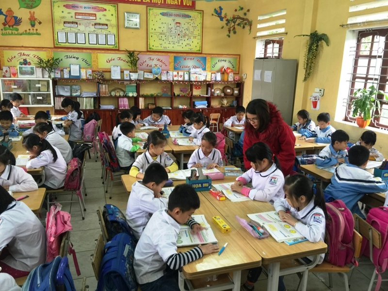 Mô hình VNEN trong các trường Tiểu học: Sự chuẩn bị cần thiết cho việc thực hiện chương trình giáo dục phổ thông mới