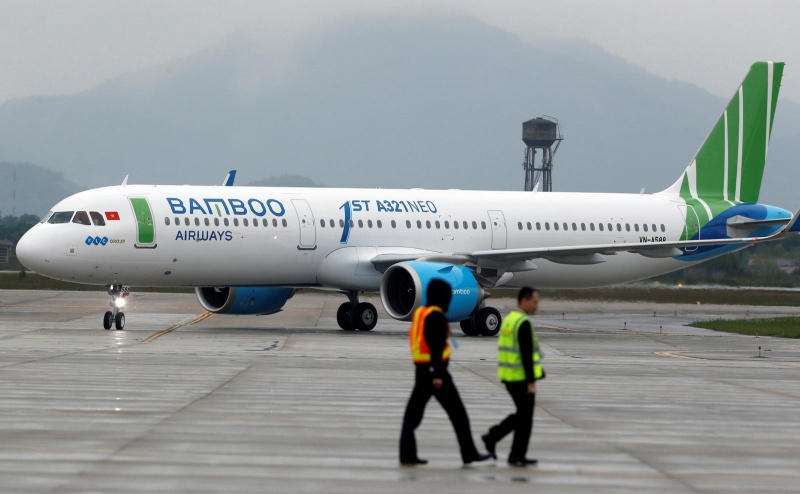 reuters va bloomberg bamboo airways se mua 50 may bay than hep airbus a321 neo