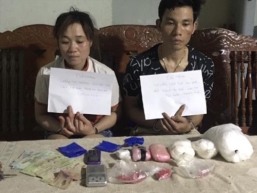 Bắt 2 đối tượng buôn bán ma túy từ Lào về Việt Nam