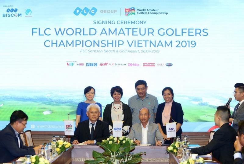 flc gianh quyen dang cai giai flc world amateur golfers championship vietnam 2019