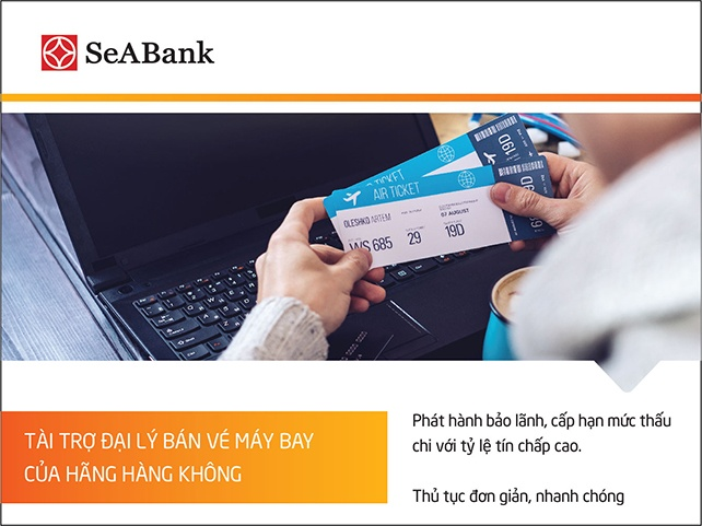 seabank tai tro dai ly ban ve may bay cua hang hang khong