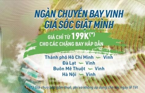 Cơ hội mua vé máy bay Bamboo Airways giá tốt chỉ từ 149.000 VND tại Ngày hội Du lịch TP Hồ Chí Minh 2019