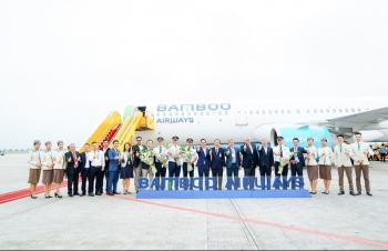 bamboo airways don them may bay airbus a321neo at chu bai cho duong bay chau a sap toi