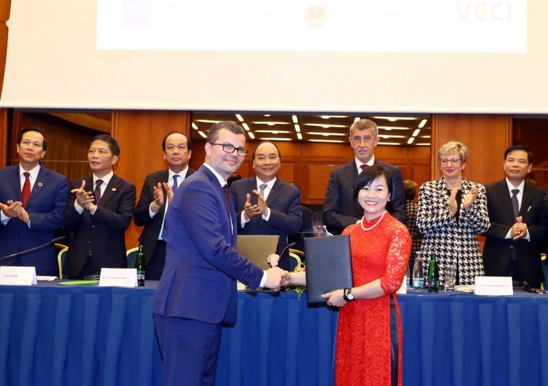 Máy bay thân rộng Boeing 787 Dreamliner của Bamboo Airways sẽ được khai thác trên đường bay thẳng tới Cộng hoà Séc