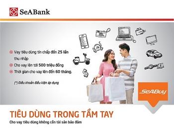 seabank cho vay tieu dung tin chap len toi 500 trieu dong