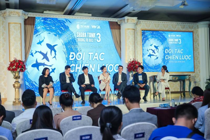 Shark Tank Việt Nam mùa 3 khởi động cùng các đối tác chiến lược tầm cỡ và nhiệt huyết với khởi nghiệp