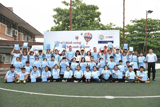 Chắp cánh ước mơ Nhà lãnh đạo tương lai cho các trẻ em làng SOS
