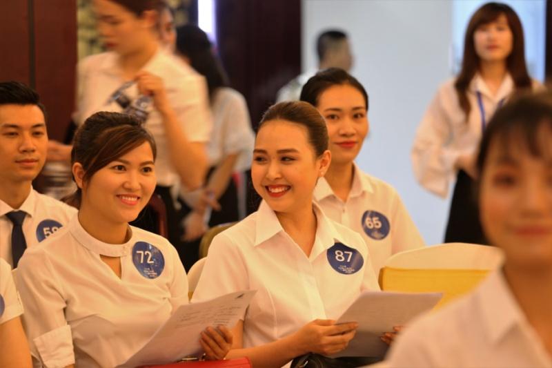 Hé lộ hình ảnh loạt ứng viên xinh đẹp đợt tuyển dụng tiếp viên đầu tiên của Bamboo Airways