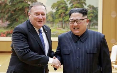 Ngoại trưởng Mỹ đến Triều Tiên xúc tiến kế hoạch phi hạt nhân