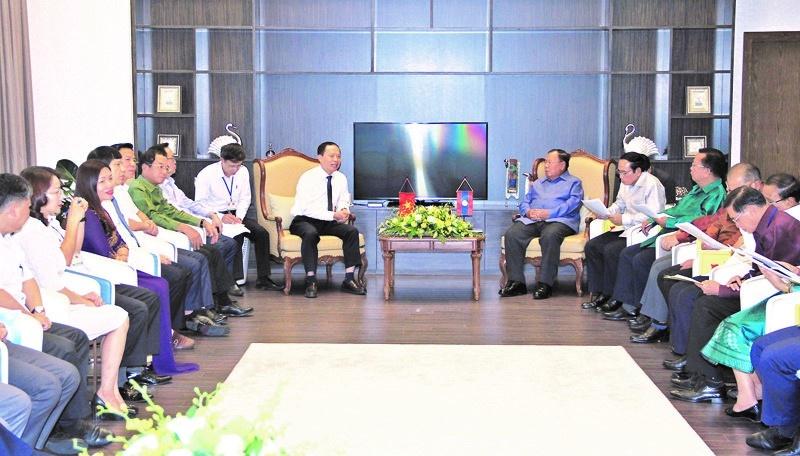 FLC Sầm Sơn vinh dự đón Tổng Bí thư, Chủ tịch nước CHDCND Lào Bounnhang Volachith