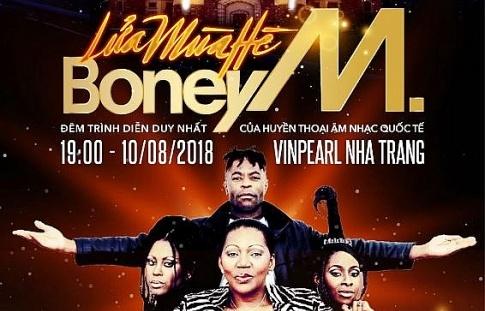 """""""Lửa mùa hè"""" - Liveshow Boney M đầu tiên tại Việt Nam"""