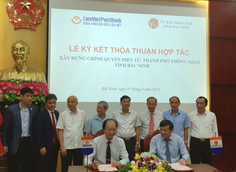 LienVietPostBank và tỉnh Bắc Ninh hợp tác xây dựng chính quyền điện tử và thành phố thông minh