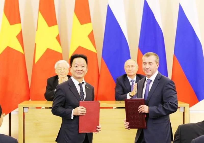 Tập đoàn T&T Group ký kết biên bản ghi nhớ với 3 đối tác lớn tại Nga