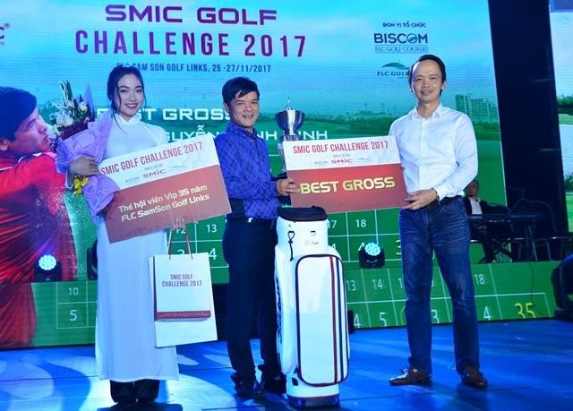 Giải SMIC Golf Challenge Tounamnet 2017 đã tìm được nhà vô địch