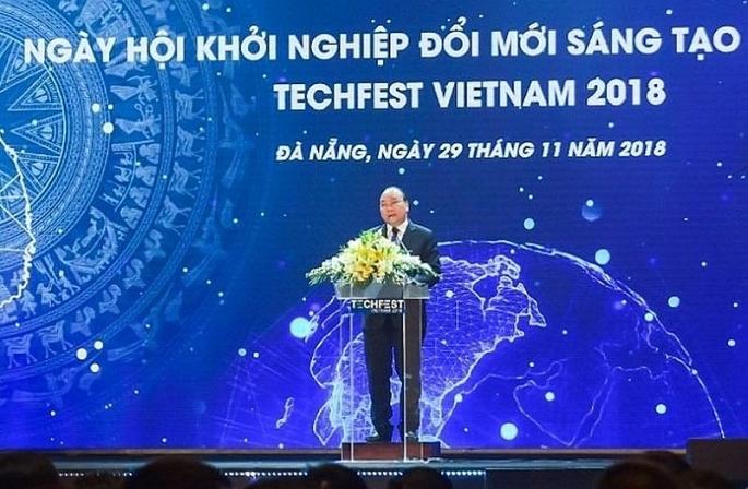 vietcombank la nha tai tro kim cuong duy nhat cho techfest 2018 ngay hoi khoi nghiep doi moi sang tao quoc gia