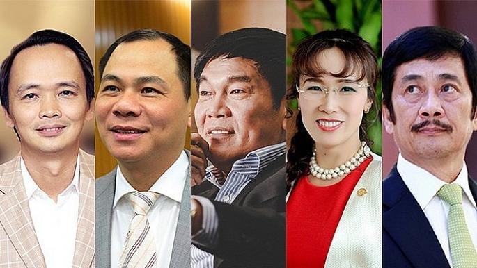 ong trinh van quyet giau nhat san chung khoan viet nam nam 2017