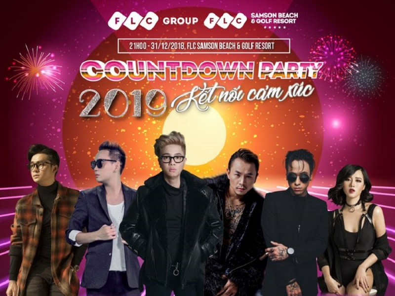 """Dàn sao """"khủng"""" khuấy đảo đại tiệc Countdown và Gala Dinner cuối năm tại FLC Hotels & Resorts"""