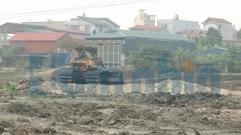 Bảo Long New City (Bắc Ninh): Thi công khi chưa đủ cơ sở pháp lí, chính quyền xã khoanh tay đứng nhìn