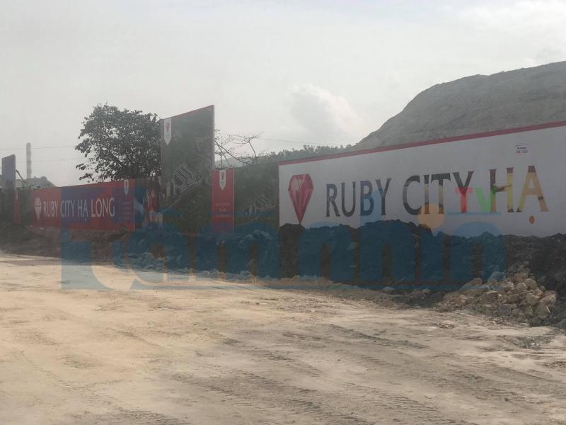 Quảng Ninh: Dự án Ruby City Hạ Long chưa đủ điều kiện bán hàng