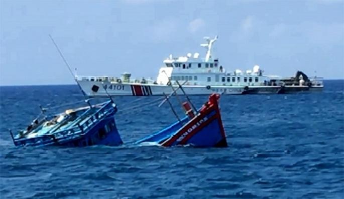 Việt Nam phản đối các yêu sách của Trung Quốc về vấn đề Biển Đông