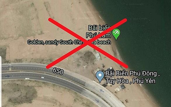 facebook xin loi google maps lai sai khi thong tin sai lech ve lanh tho viet nam