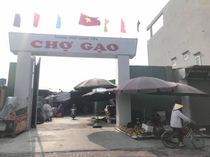 Dự án đầu tư xây dựng Chợ Gạo tiếp tục bị UBND tỉnh Hưng Yên xử phạt