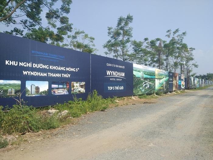 Dự án Wyndham Thanh Thủy: Đừng bán hàng khi chưa xây dựng