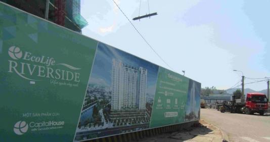 Bình Định: Thi công dự án Ecolife Riverside gây ô nhiễm môi trường, làm nứt tường nhà dân