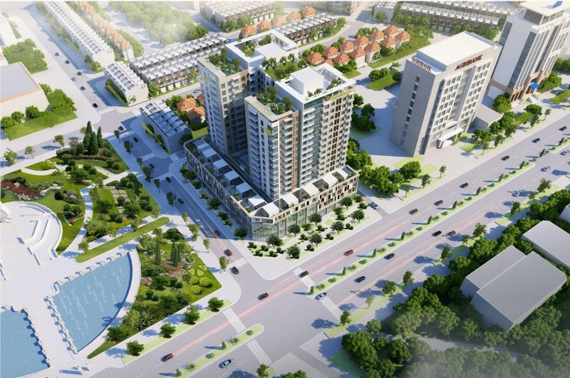 Dự án chung cư Lotus Central đất 50 năm biến thành đất ở