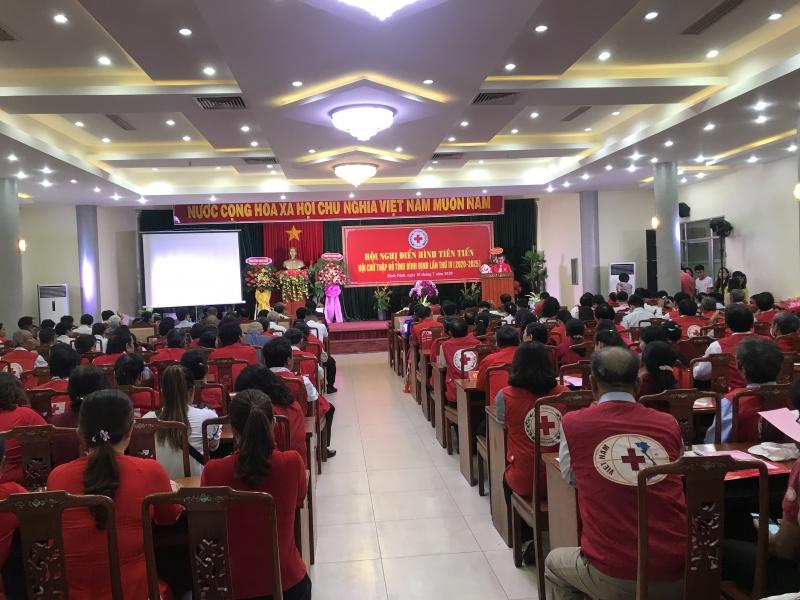 Bình Định: Hội nghị điển hình tiên tiến Hội Chữ thập đỏ tỉnh lần thứ IV