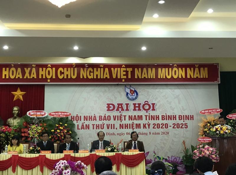 Bình Định: Đại hội Hội Nhà báo Việt Nam tỉnh Bình Định lần thứ VII, nhiệm kỳ  2020-2025