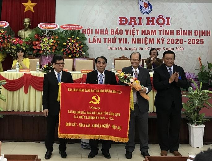 binh dinh dai hoi hoi nha bao viet nam tinh binh dinh lan thu vii nhiem ky 2020 2025