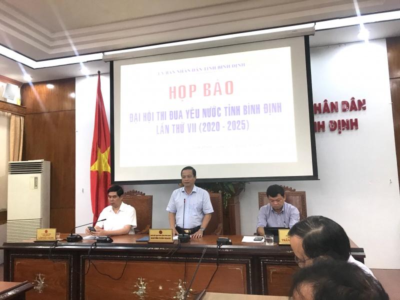 Bình Định: Họp báo thông tin về Đại hội thi đua yêu nước lần thứ VII  (2020 - 2025)