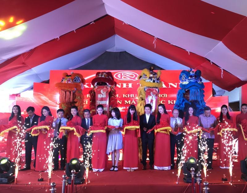Bình Định: Khánh thành Rạp phim, Khu vui chơi giải trí và Điện máy Quốc Khánh