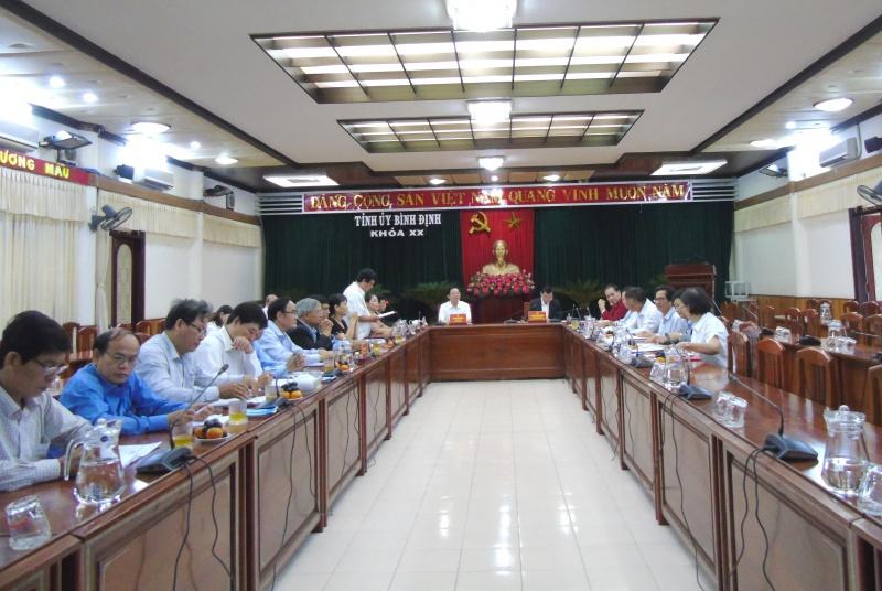 Bình Định: Tăng cường sự lãnh đạo của Đảng với công tác nhân đạo